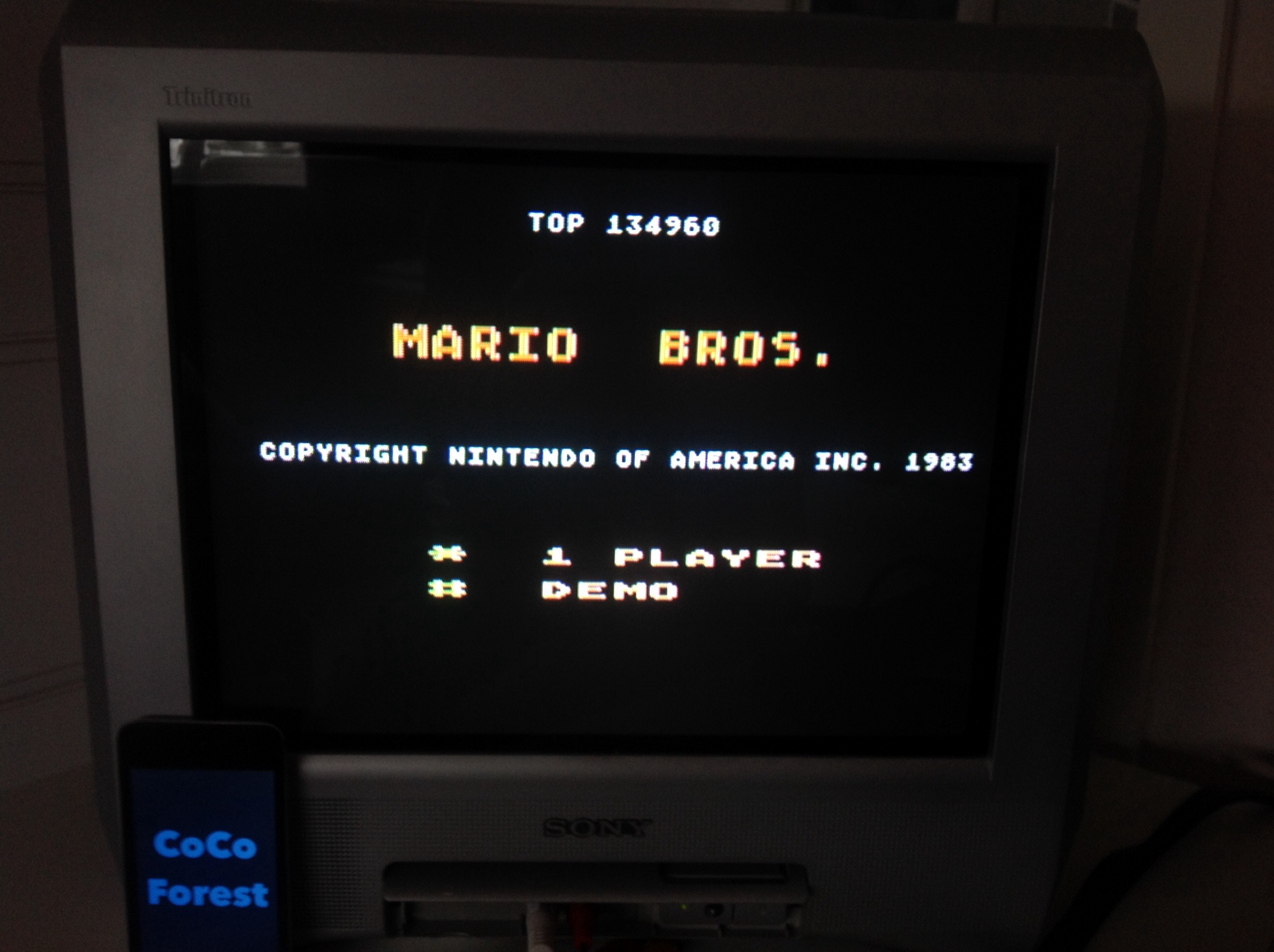 CoCoForest: Mario Bros (Atari 5200) 134,960 points on 2015-02-07 05:12:19