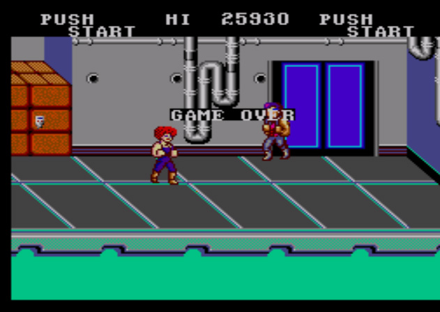 Double Dragon 25,930 points