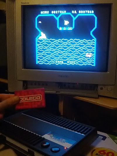 coleco1981: Flipper Slipper (Colecovision Flashback) 27,560 points on 2015-02-07 11:23:54