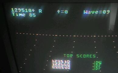 jfetzer: Juno First (Atari 400/800/XL/XE) 129,510 points on 2015-02-07 13:24:36