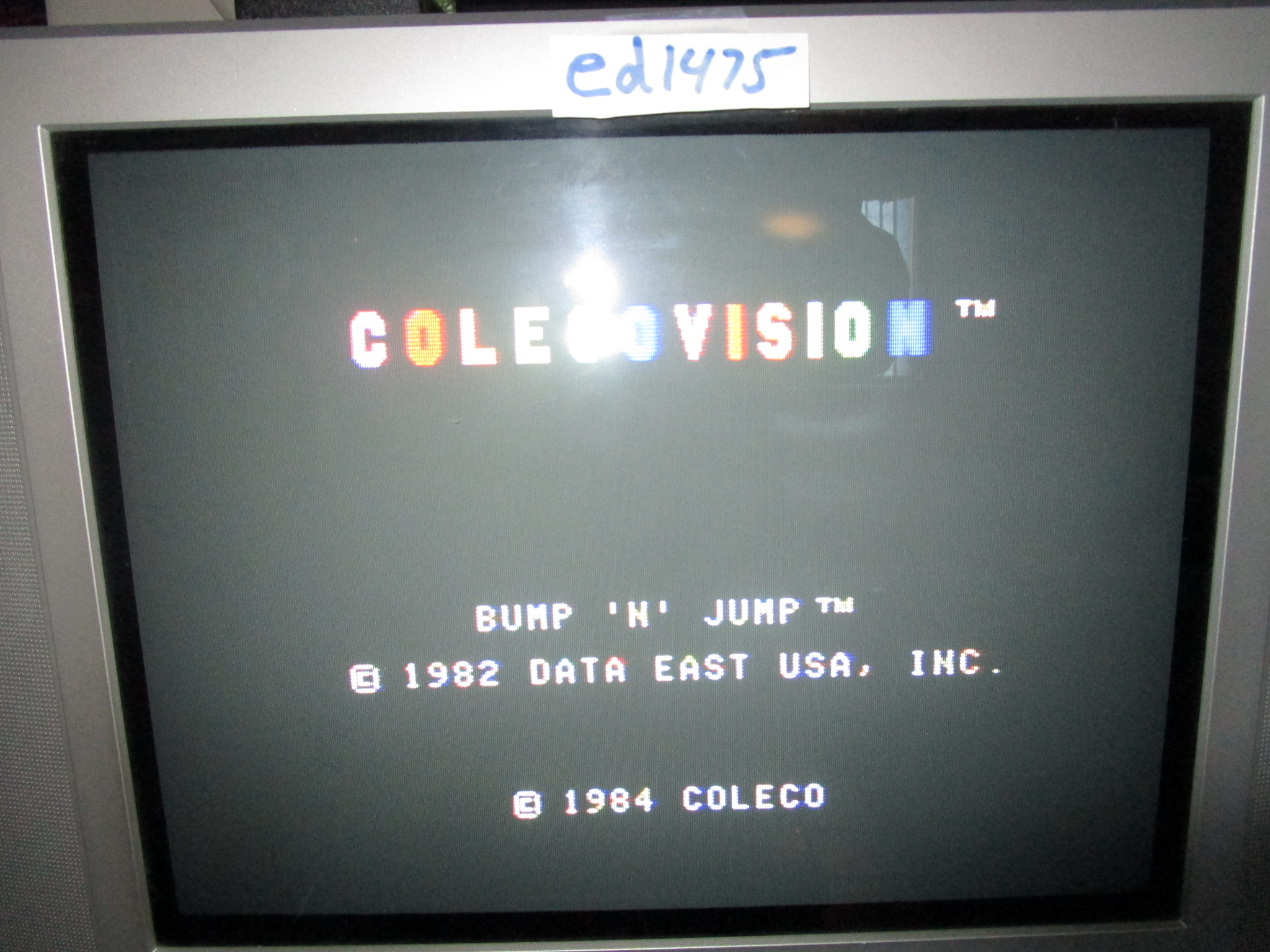 ed1475: Bump `n` Jump (Colecovision Flashback) 102,624 points on 2015-02-07 18:41:52