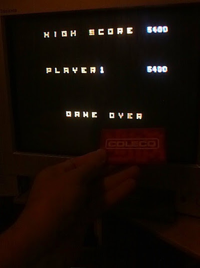 coleco1981: Rolloverture: Skill 1 (Colecovision Flashback) 5,400 points on 2015-02-08 13:14:24