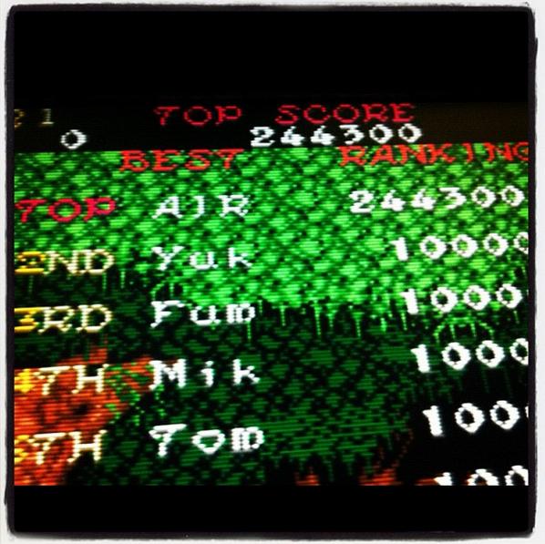 minirecreativas: Ghosts N Goblins (Arcade) 244,300 points on 2015-02-09 02:44:54