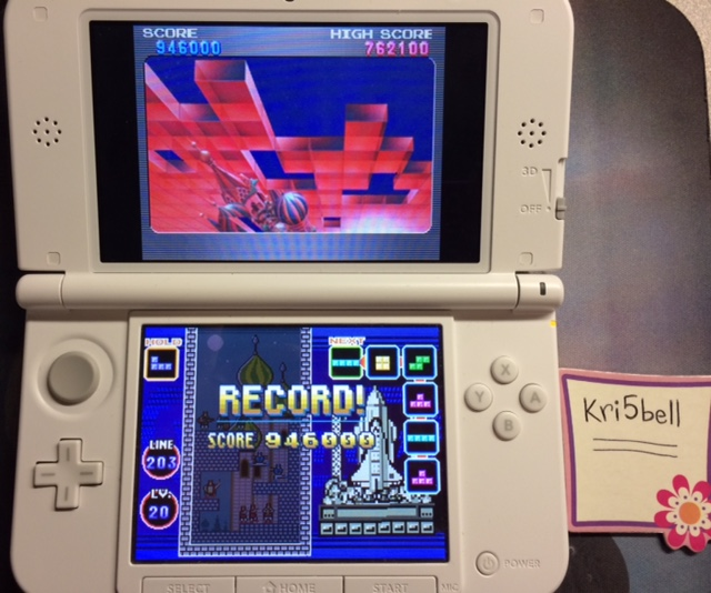 kri5bell: Tetris Ultimate: Marathon [Endless Off] (Nintendo 3DS) 946,000 points on 2015-02-09 15:48:31