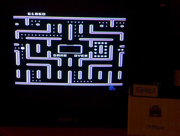 SHiNjide: Jr. Pac-Man (Atari 400/800/XL/XE) 61,860 points on 2015-02-10 04:06:06