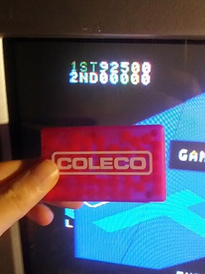 coleco1981: Zaxxon (Colecovision Flashback) 92,500 points on 2015-02-10 21:38:06