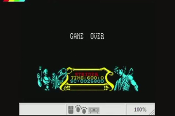 mechafatnick: Strider (ZX Spectrum Emulated) 25,800 points on 2015-02-11 01:26:36