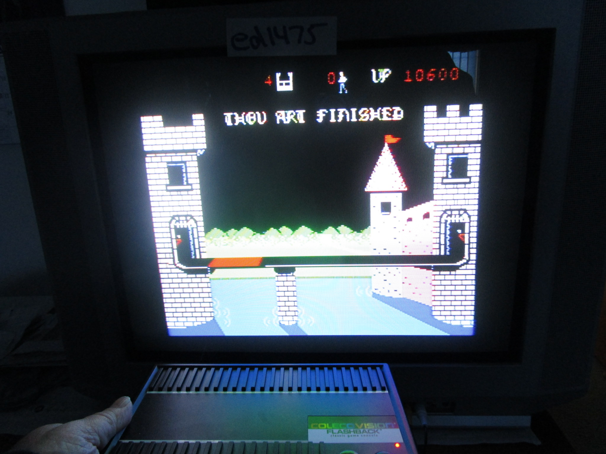ed1475: Dragonfire (Colecovision Flashback) 10,600 points on 2015-02-13 23:58:41
