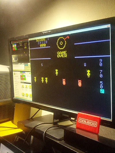 coleco1981: Carnival (Colecovision Emulated) 34,120 points on 2015-02-16 00:54:53