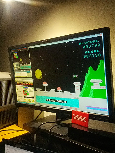 coleco1981: Spectron: Skill 1 (Colecovision Emulated) 3,790 points on 2015-02-16 16:09:12