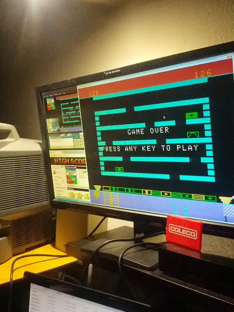 coleco1981: Linking Logic: Level 1 (Colecovision Emulated) 126 points on 2015-02-16 16:10:29