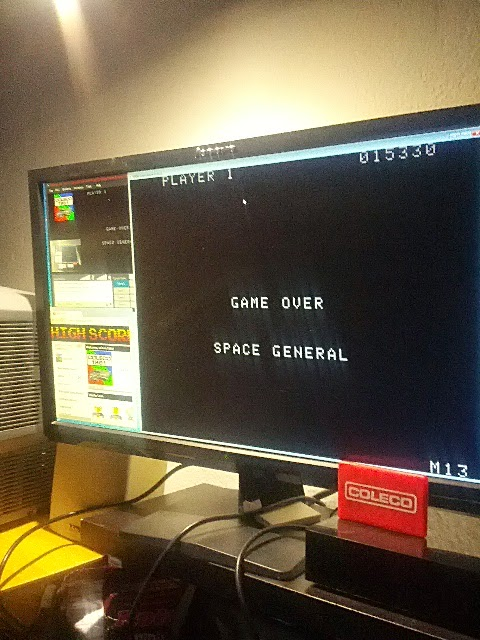 coleco1981: Gorf (Colecovision Emulated) 15,330 points on 2015-02-16 21:38:16