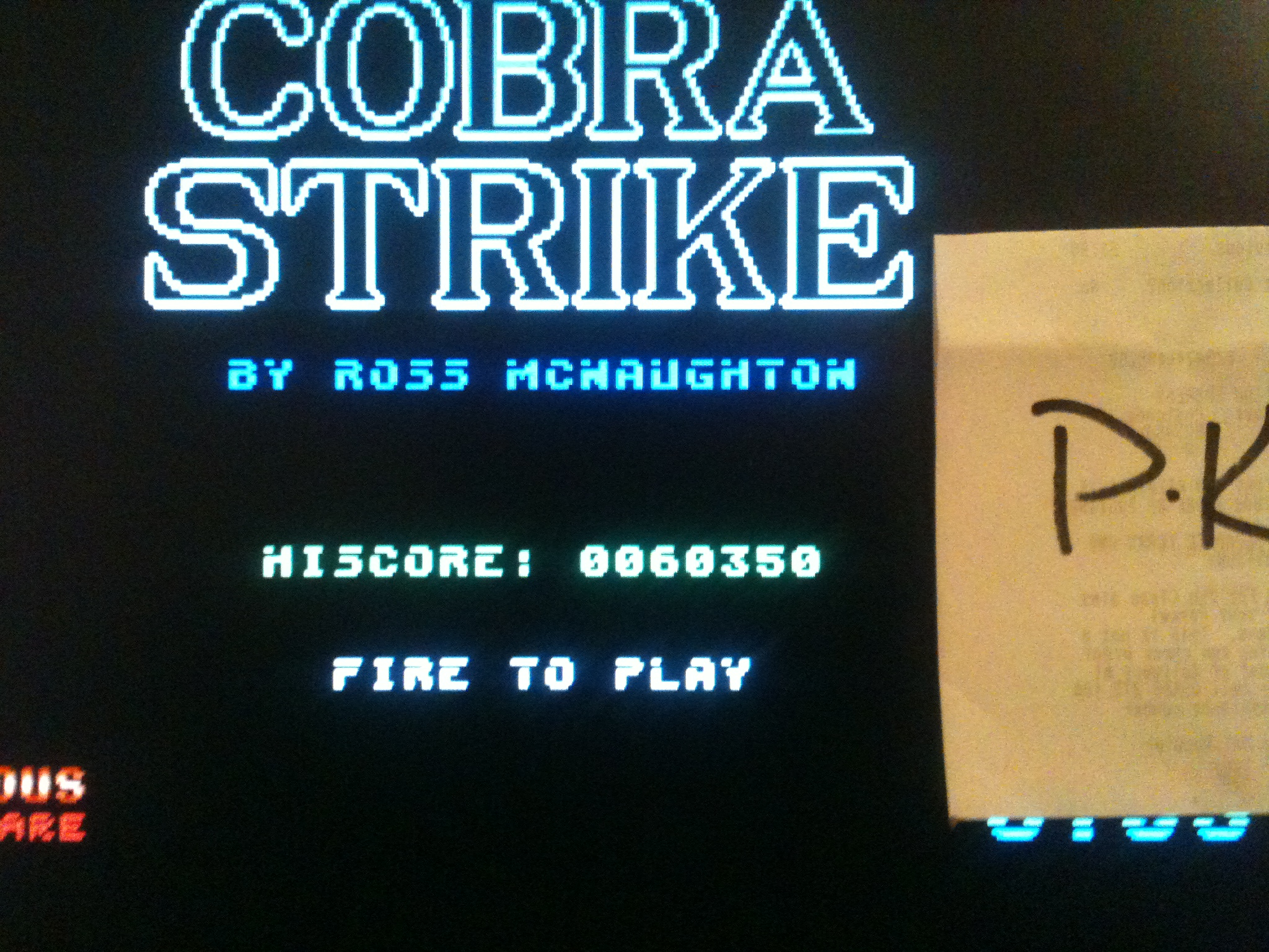 kernzy: Cobra Strike (Atari ST Emulated) 60,350 points on 2015-02-17 21:35:05