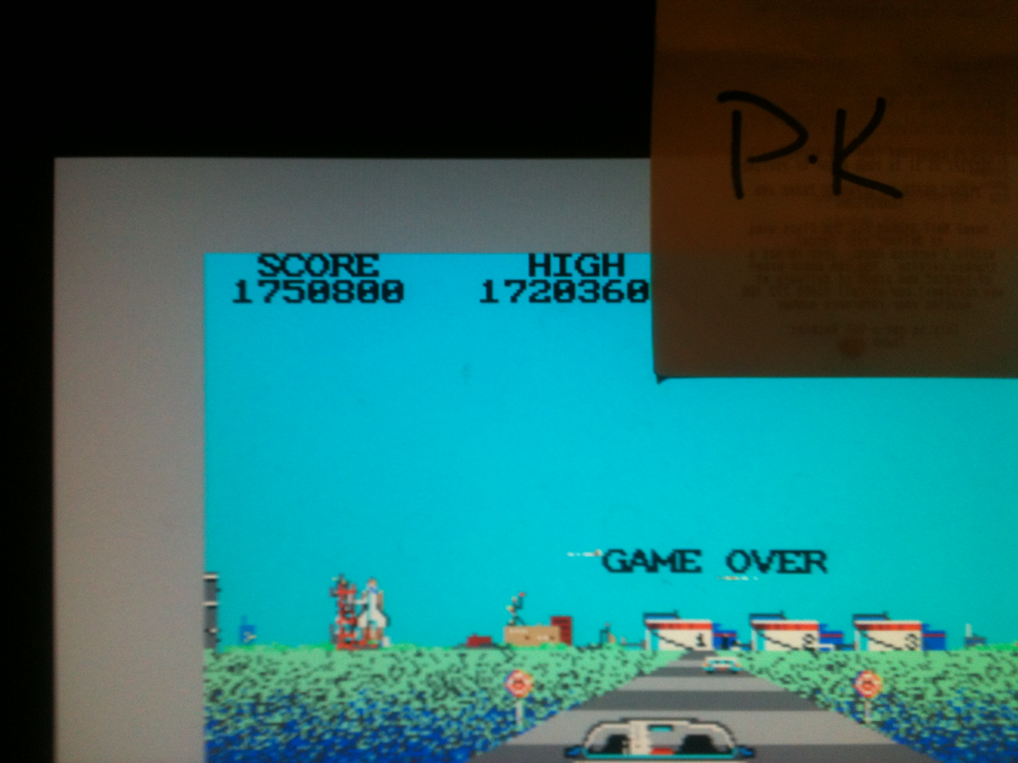 kernzy: Crazy Cars (Atari ST Emulated) 1,750,800 points on 2015-02-17 21:36:28