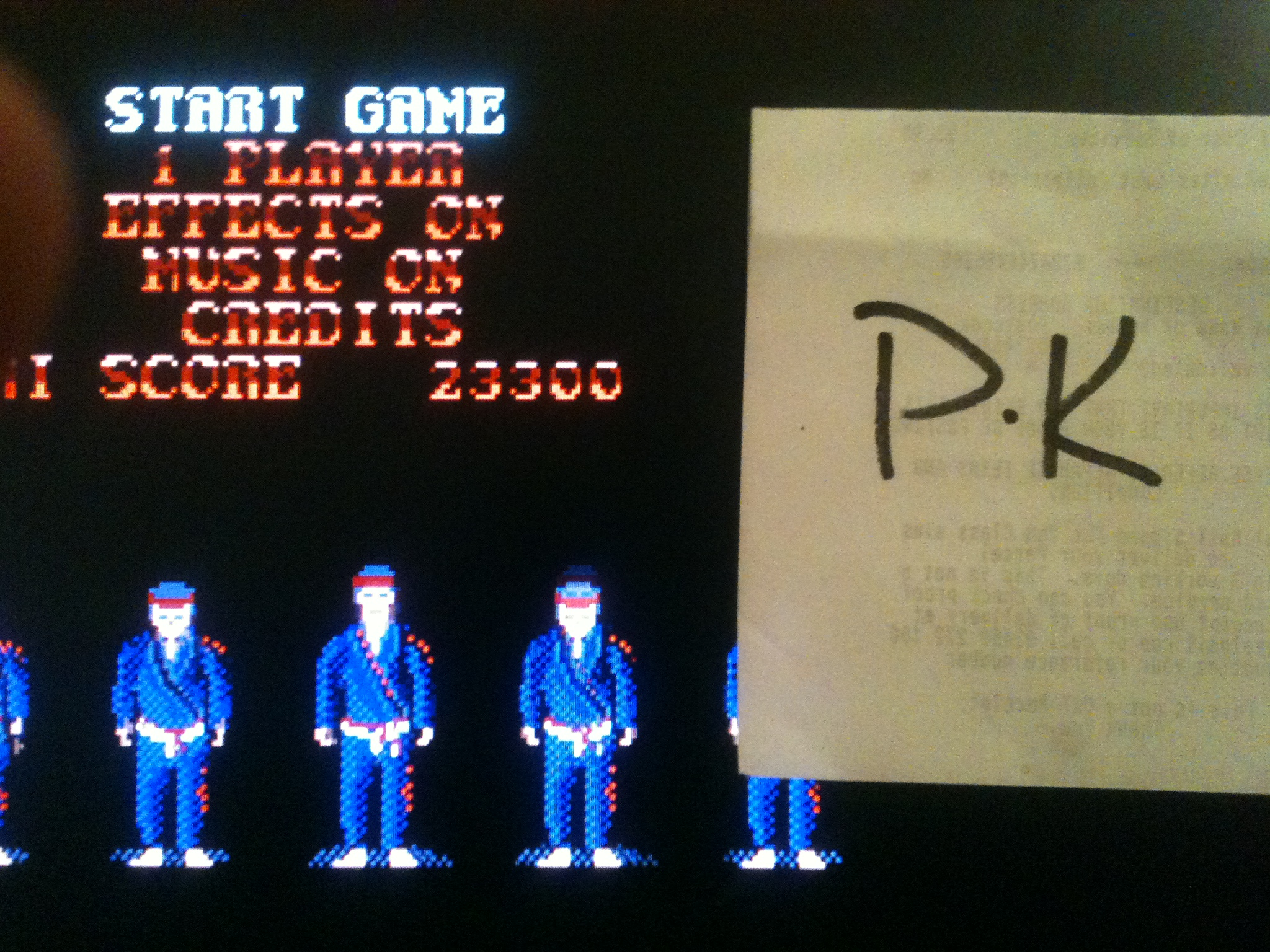 kernzy: ST Karate (Atari ST Emulated) 23,300 points on 2015-02-18 20:42:19