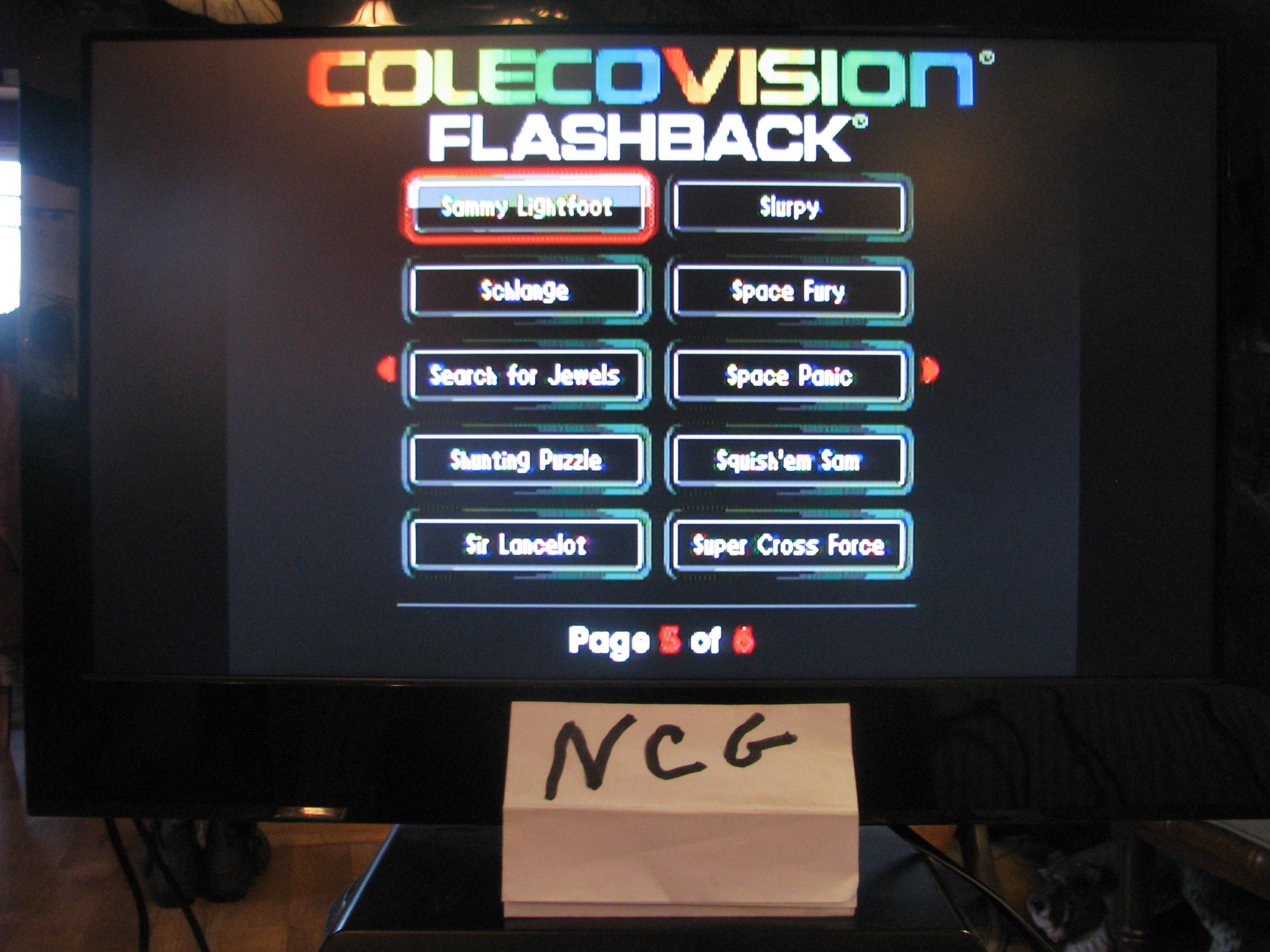 NorthCoastGamer: Sammy Lightfoot: Skill 1 (Colecovision Flashback) 56,660 points on 2015-02-20 15:56:45
