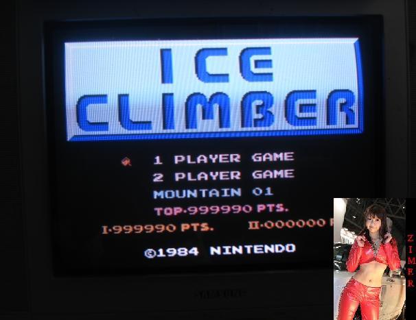 Ice Climber 999,990 points