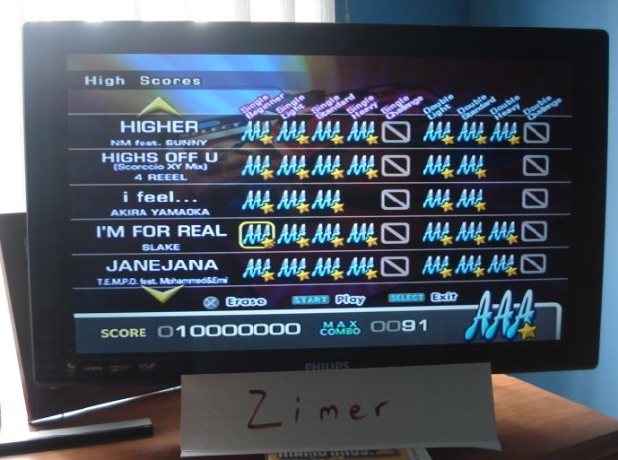 Zimer: DDR Extreme: I