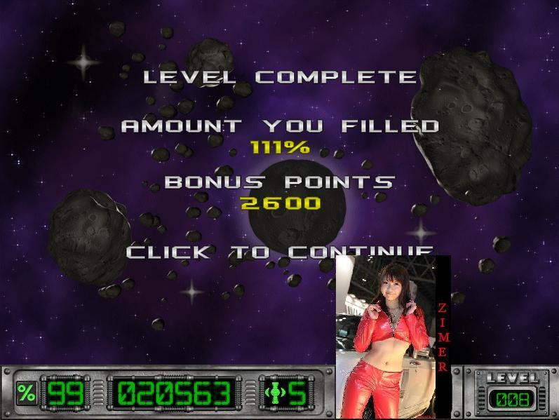 Zimer: Cosmic Bugs: Level 008 [Percentage] (PC) 111 points on 2015-02-21 05:16:01