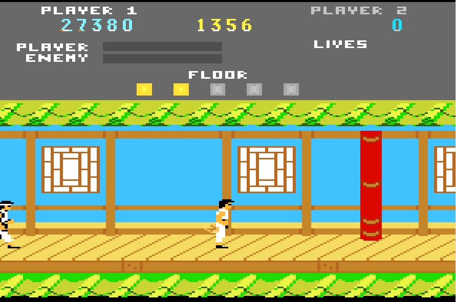 Liduario: Kung Fu Master (Atari 7800 Emulated) 27,380 points on 2015-02-21 07:02:00