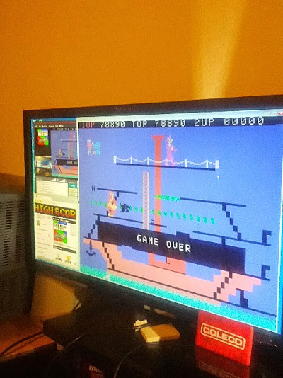 coleco1981: Popeye: Skill 1 (Colecovision Emulated) 78,890 points on 2015-02-21 11:24:08