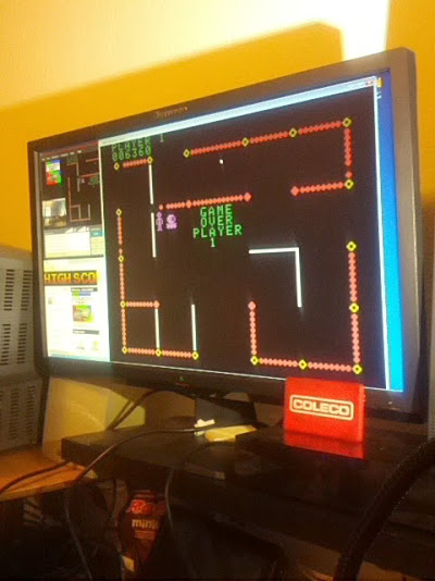 coleco1981: Frenzy: Skill 2 (Colecovision Emulated) 6,360 points on 2015-02-21 11:37:36