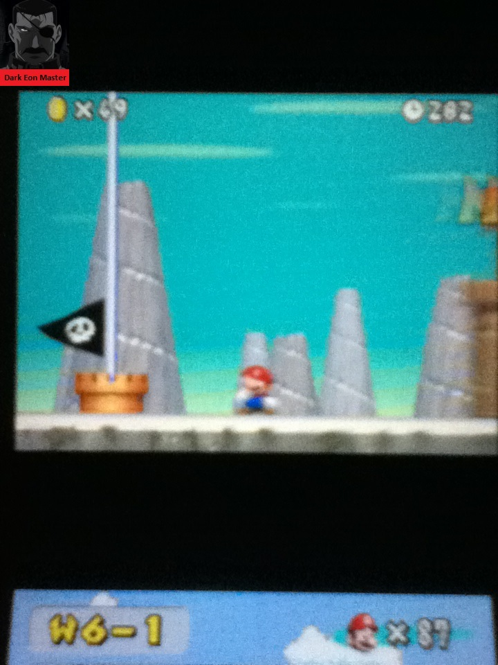 DarkEonMaster: New Super Mario Bros.: World 6-1 [Remaining Time] (Nintendo DS) 282 points on 2015-02-21 13:35:47