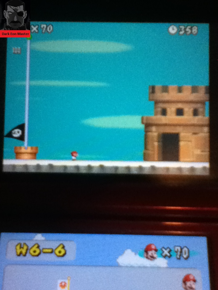 DarkEonMaster: New Super Mario Bros.: World 6-6 [Remaining Time] (Nintendo DS) 358 points on 2015-02-21 13:58:01