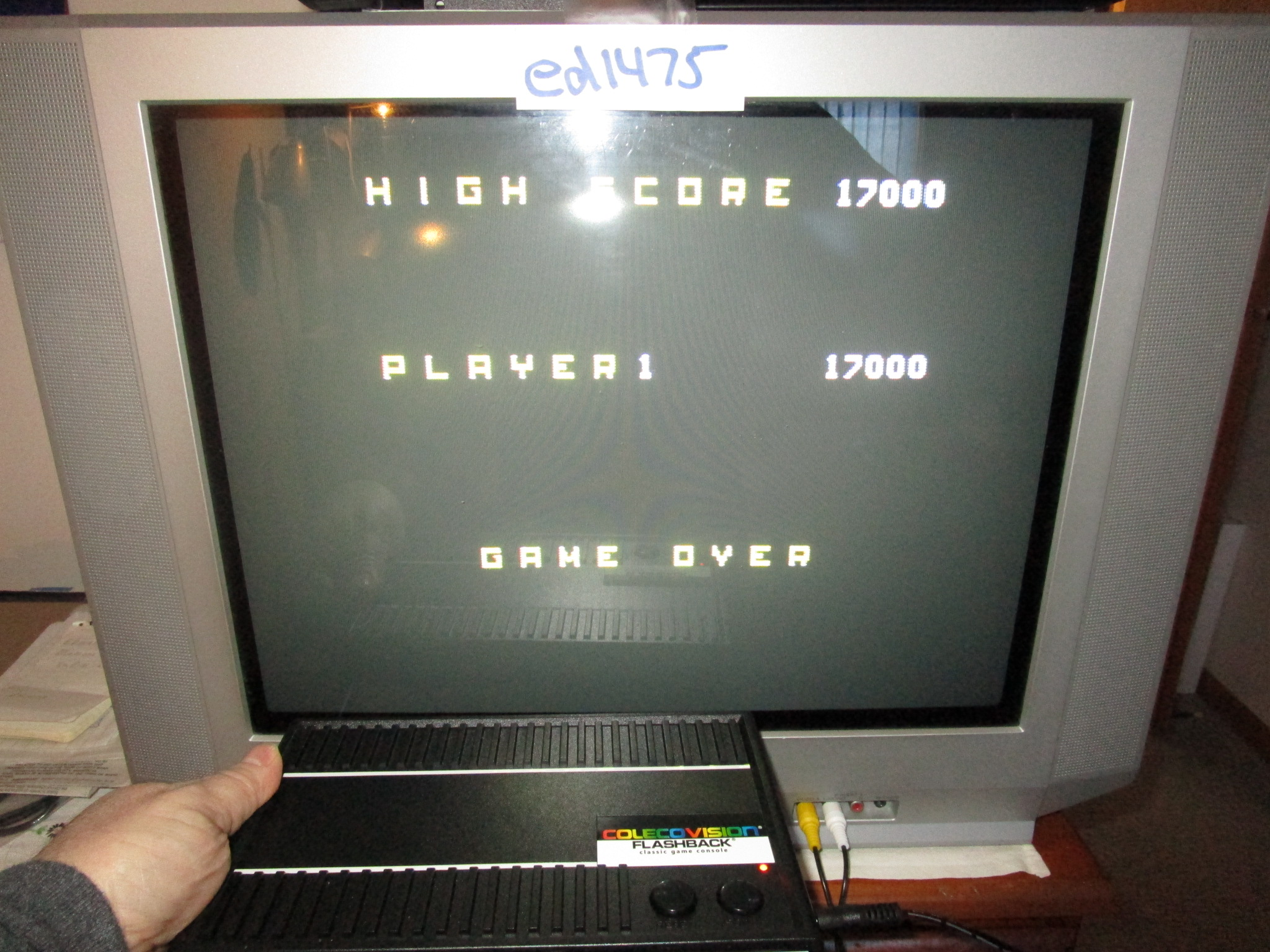 ed1475: Rolloverture: Skill 1 (Colecovision Flashback) 17,000 points on 2015-02-23 00:37:11