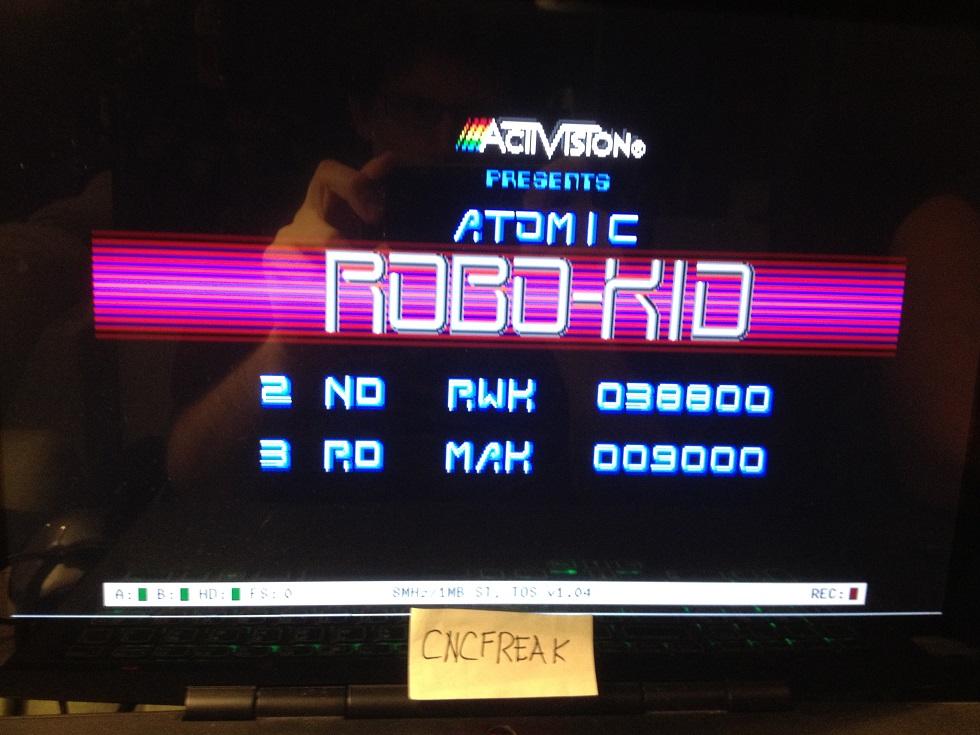Atomic Robo Kid 38,800 points