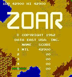 Zoar [zoar] 42,900 points