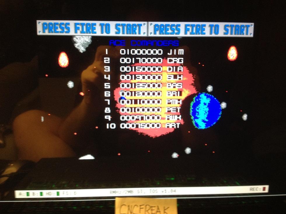 Blasteroids 97,000 points