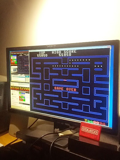 coleco1981: Pac-Man (Colecovision Emulated) 55,850 points on 2015-02-25 20:55:58