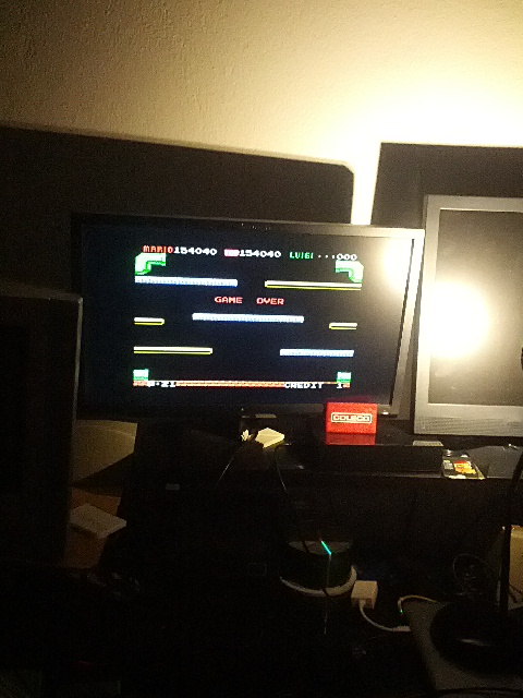 coleco1981: Mario Bros (Colecovision Emulated) 154,040 points on 2015-02-26 22:51:37
