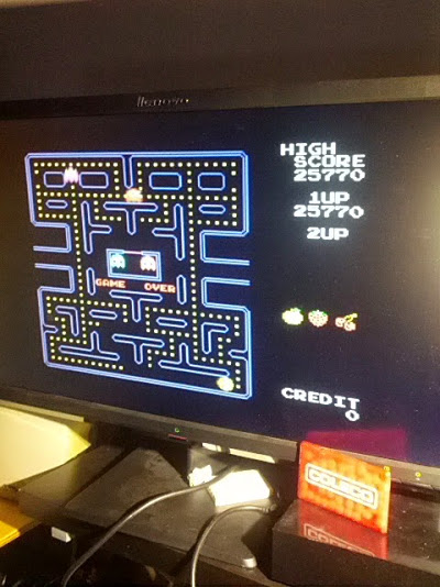 Pac-Man Collection: Pac-Man 25,770 points