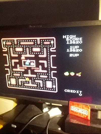 Pac-man Collection: Ms. Pac-Man [Hard] 13,820 points