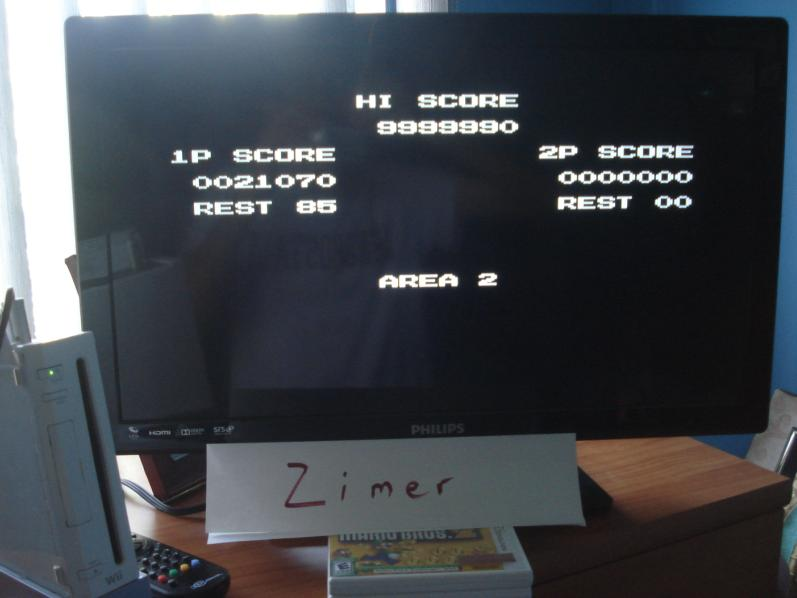 Zimer: Super C [Any Settings/Any Tactics] (Wii Virtual Console: NES) 9,999,990 points on 2015-02-28 10:46:50