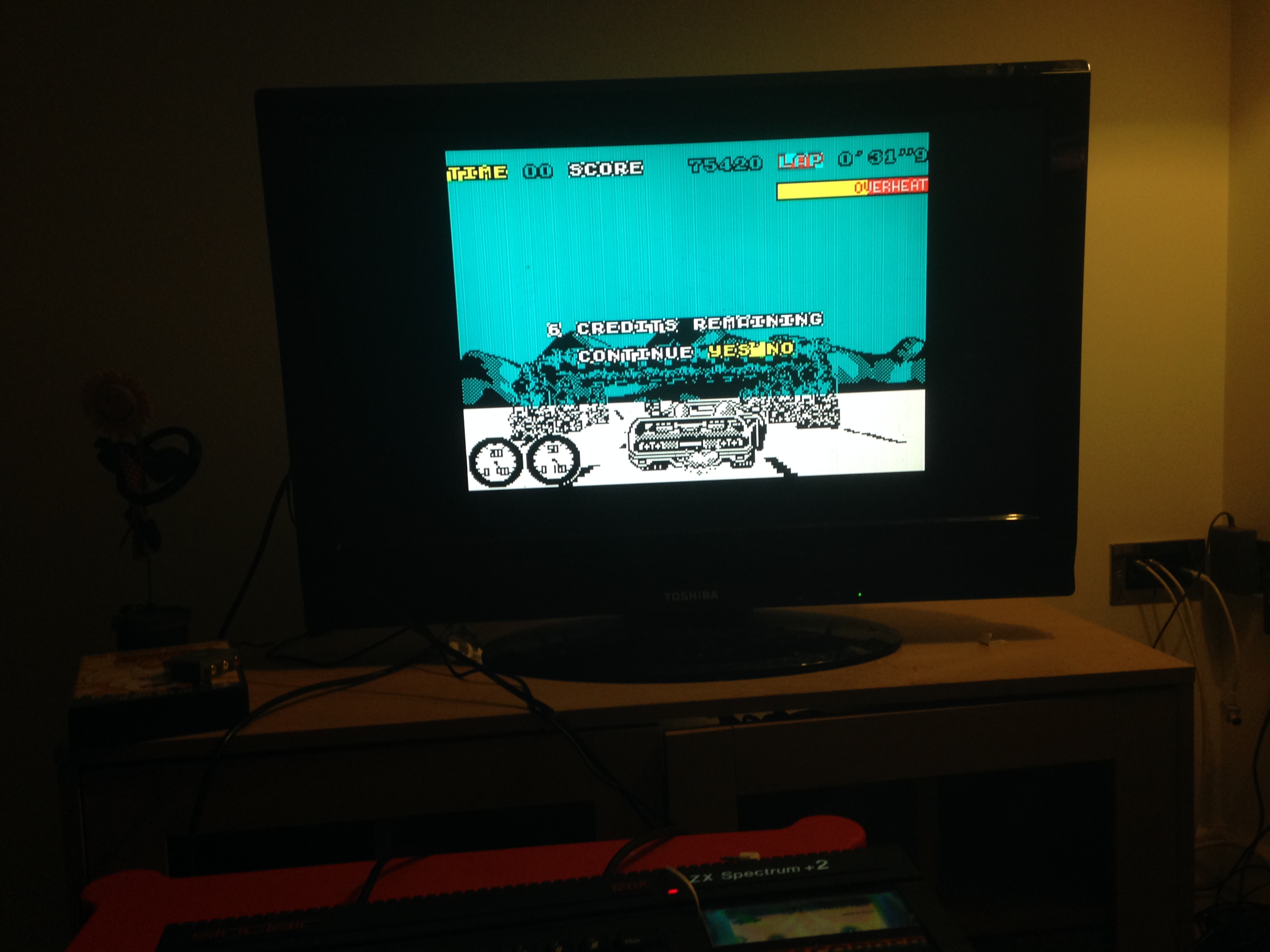 mechafatnick: Turbo Outrun (ZX Spectrum) 75,420 points on 2015-03-02 00:36:22