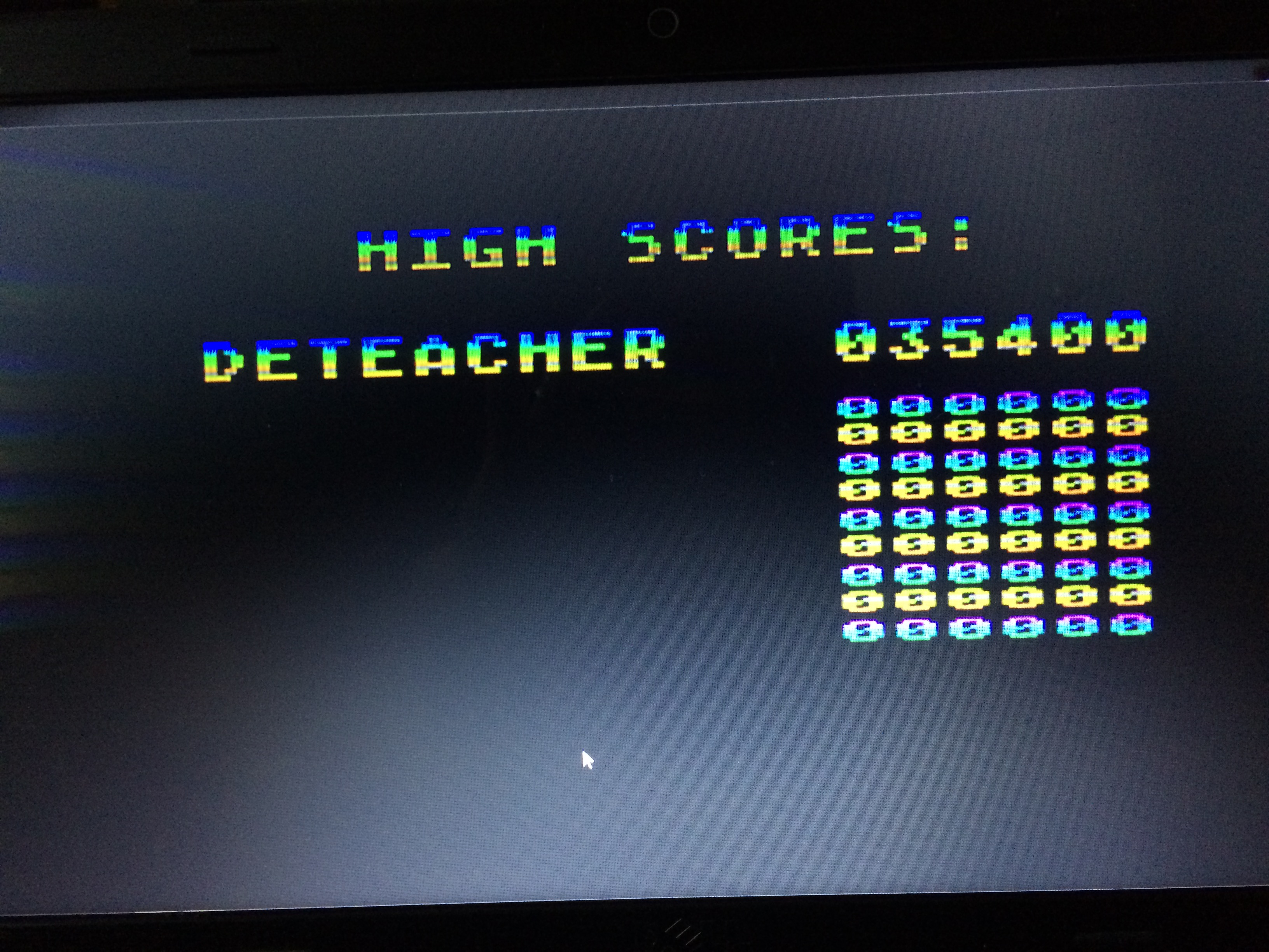 Deteacher: Juice! (Atari 400/800/XL/XE Emulated) 35,400 points on 2015-03-04 15:50:22