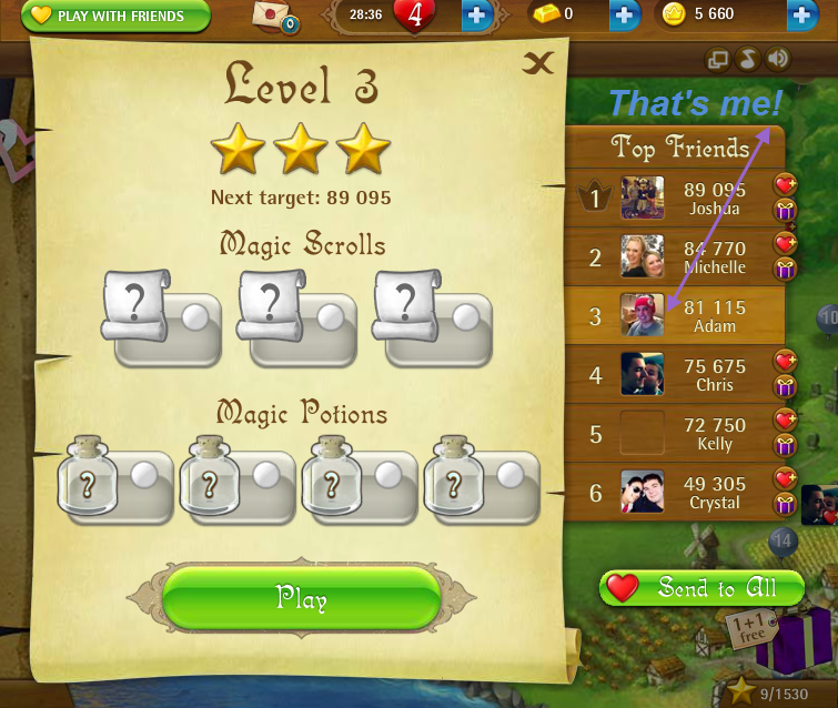 FosterAMF: Bubble Witch Saga: Level 3 (Web) 81,115 points on 2015-03-05 15:04:50