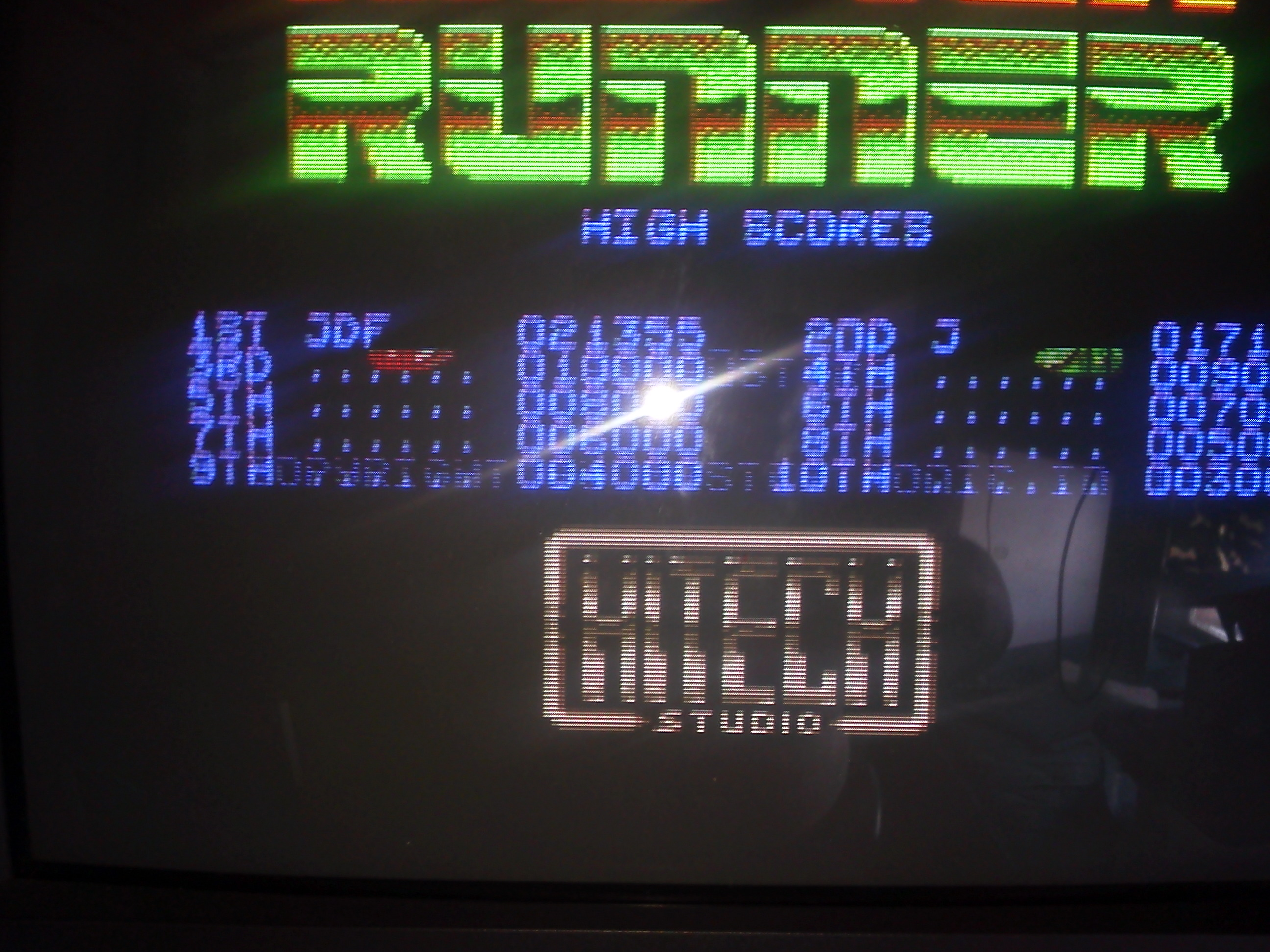 Raster Runner [1P/Easy] 21,355 points