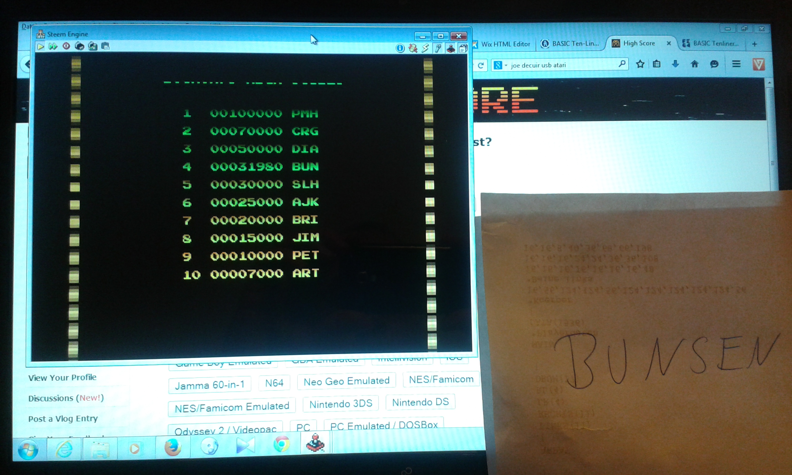 Bunsen: Pac-Mania STE (Atari ST Emulated) 31,980 points on 2015-03-06 16:04:58