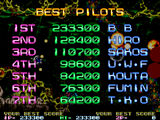 BarryBloso: R-Type Leo [rtypeleo] (Arcade Emulated / M.A.M.E.) 233,300 points on 2015-03-06 18:57:13