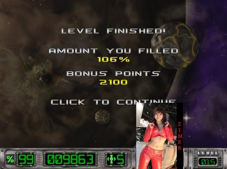 Zimer: Cosmic Bugs: Level 015 [Percentage] (PC) 106 points on 2015-03-06 23:10:47