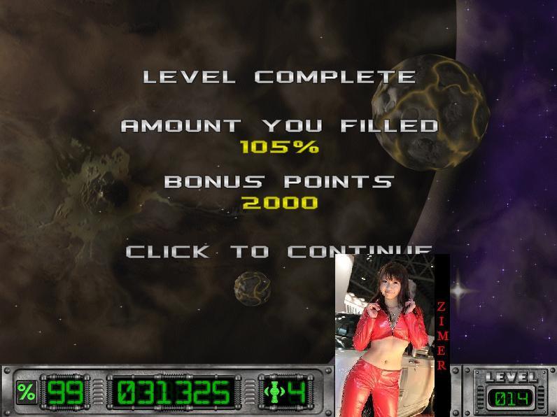 Zimer: Cosmic Bugs: Level 014 [Percentage] (PC) 105 points on 2015-03-06 23:11:02