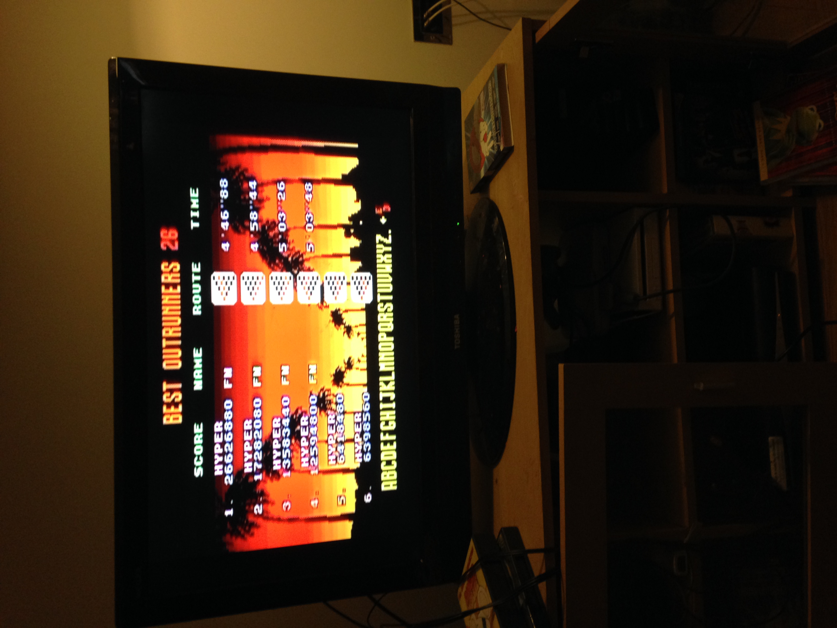 mechafatnick: Outrun [Hyper] Goal E (Sega Genesis / MegaDrive) 17,282,080 points on 2015-03-07 02:36:26