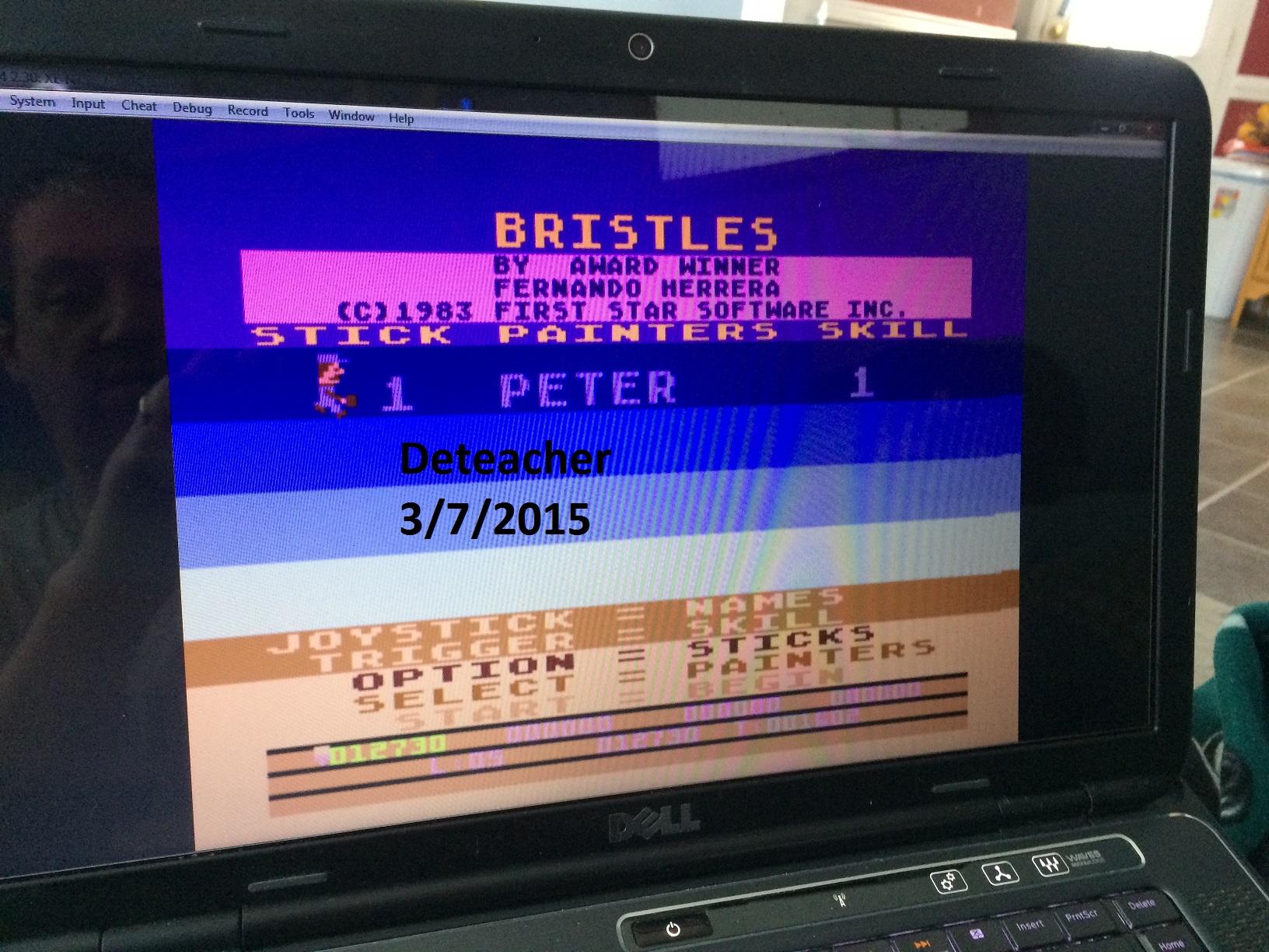 Bristles 12,730 points