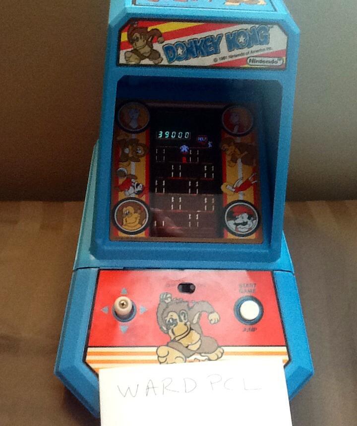 Coleco Donkey Kong 39,000 points