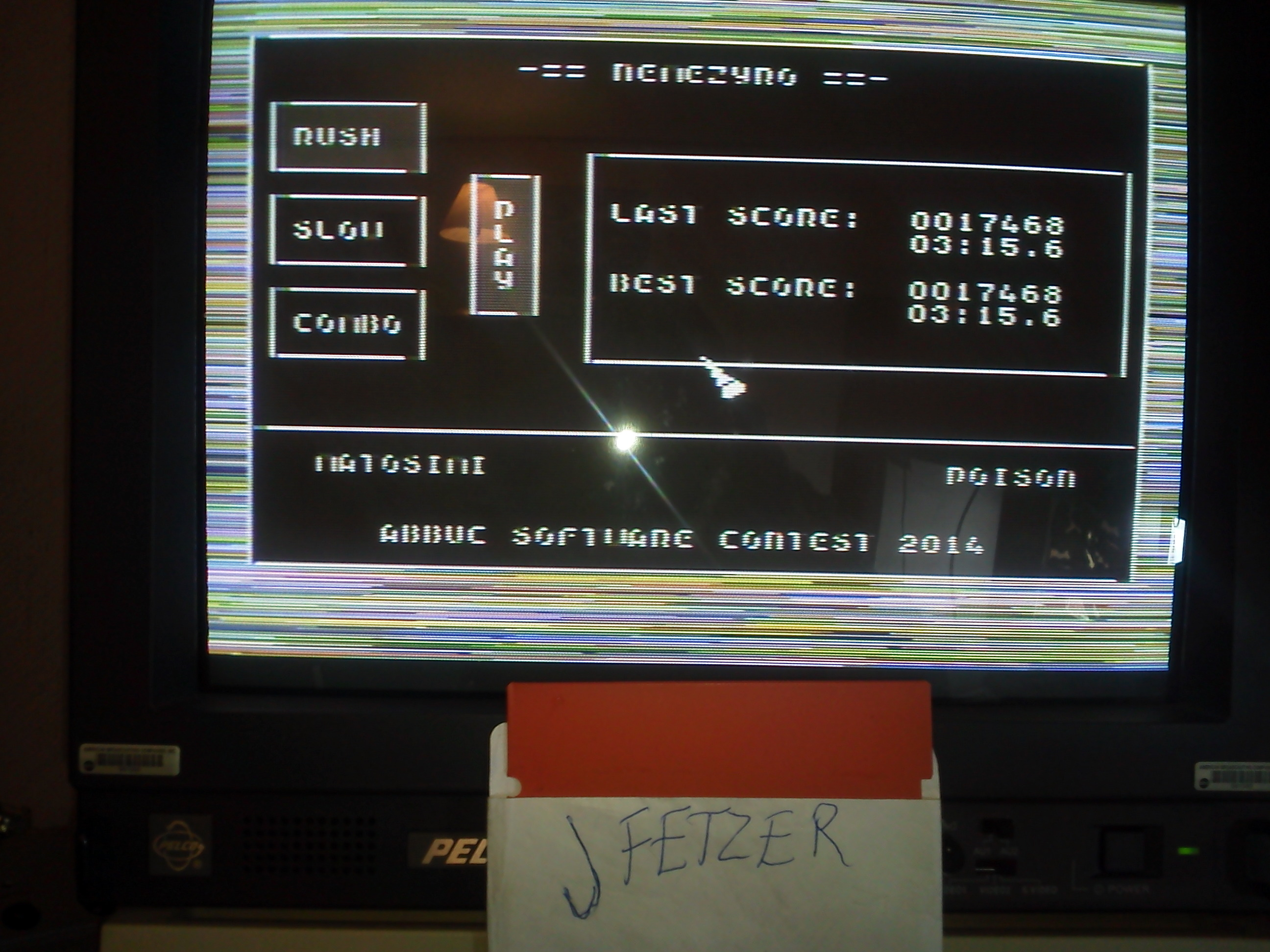 jfetzer: Nemezyro: Rush (Atari 400/800/XL/XE) 17,468 points on 2015-03-07 09:48:41