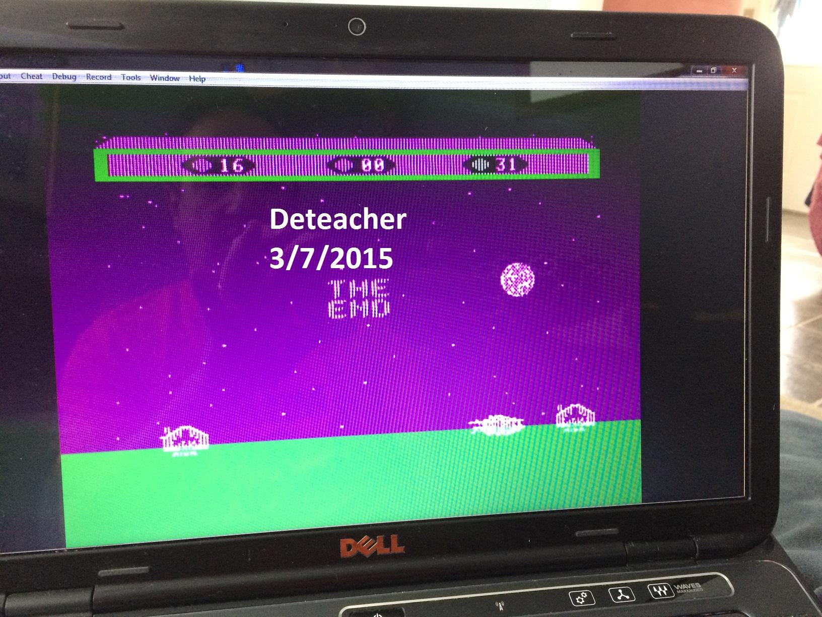 Deteacher: Choplifter (Atari 400/800/XL/XE Emulated) 31 points on 2015-03-07 12:16:58